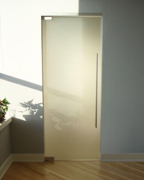 Стандартна стъклена врата