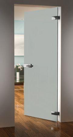 Стъклена врата с панти стъкло