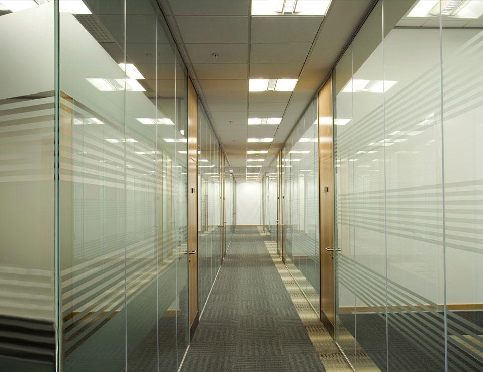 Офис стъглени прегради